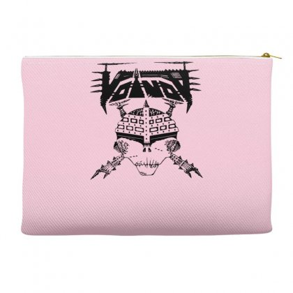 Voivod Black Skull Accessory Pouches Designed By Gematees