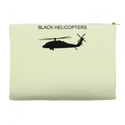 Black Helicopter Accessory Pouches Designed By Gematees