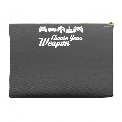 Choose Your Weapon Game Accessory Pouches Designed By Gematees