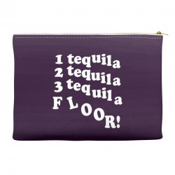 1 tequila 2 tequila 3 tequila floor Accessory Pouches | Artistshot