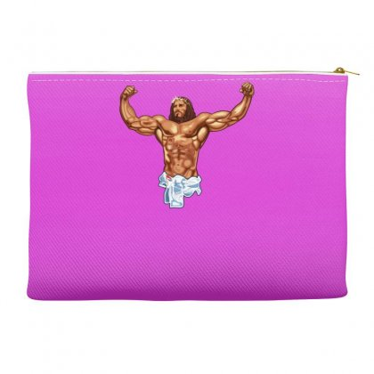Strong Jesus Accessory Pouches Designed By Gematees