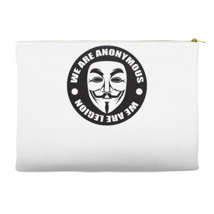We Are Anonymous Accessory Pouches Designed By Gematees
