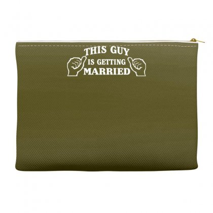 This Guy Is Getting Married Accessory Pouches Designed By Gematees