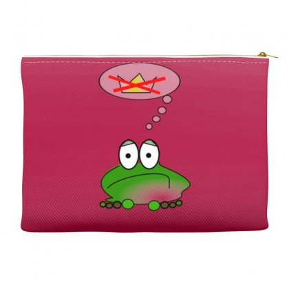 Sad Frog Accessory Pouches Designed By Gematees