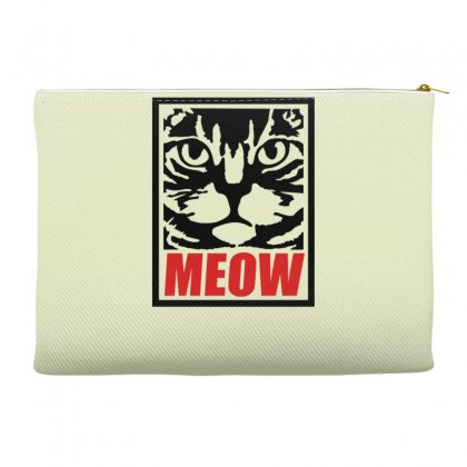 Funny Cat Meow Accessory Pouches Designed By Gematees