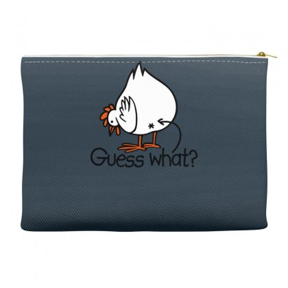 Guess What Funny Chicken Butt Accessory Pouches Designed By Gematees