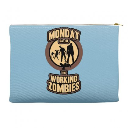 Day Of The Working Zombies Accessory Pouches Designed By Gematees