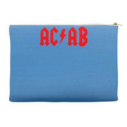 Ac Ab Skinhead Oi! Music Rock Band Logo Parody Accessory Pouches Designed By Gematees