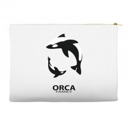 ORCA FAMILY Accessory Pouches | Artistshot