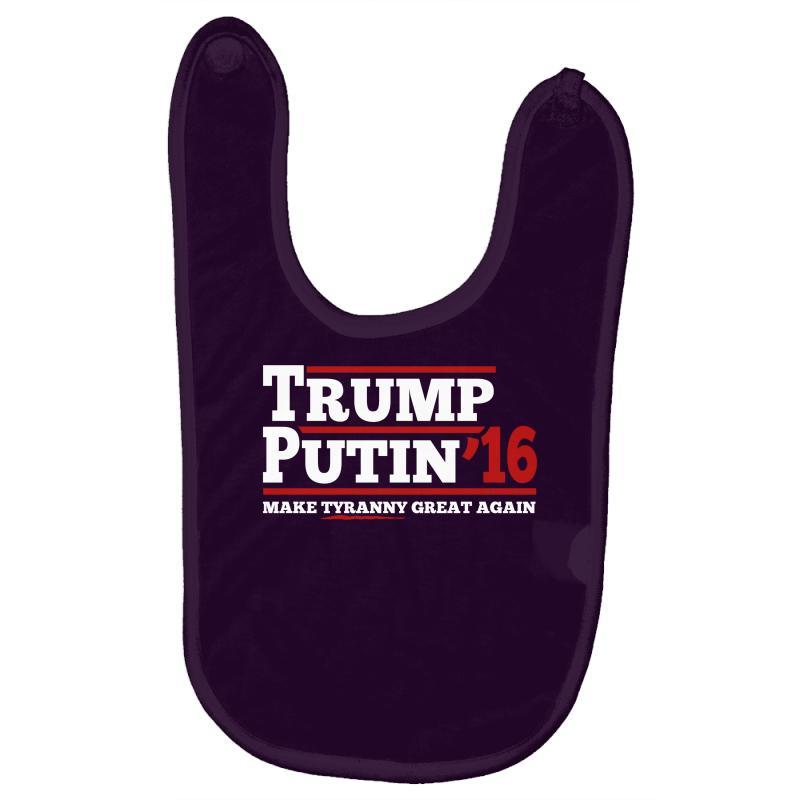 Trump Putin 2016 Baby Bibs | Artistshot