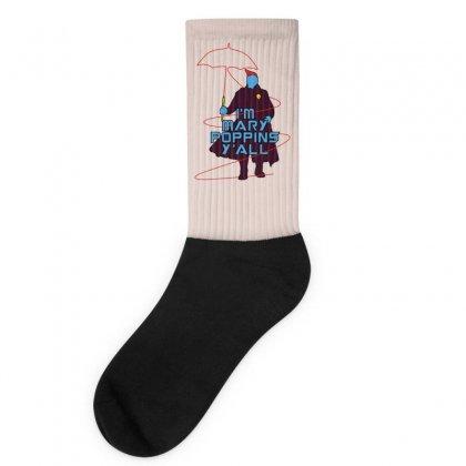 I'm Mary Poppins Y'all Socks Designed By Vr46