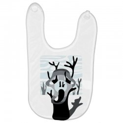 the tree's scream Baby Bibs | Artistshot