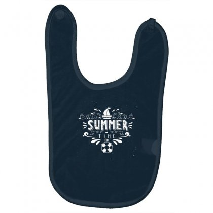 Summer Time Baby Bibs Designed By Tonyhaddearts