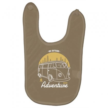 Go Outside To New Adventure Baby Bibs Designed By Tonyhaddearts