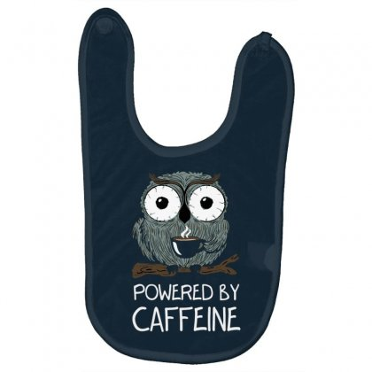 Caffeine Addict Baby Bibs Designed By Tonyhaddearts