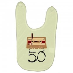 music tape retro Baby Bibs | Artistshot