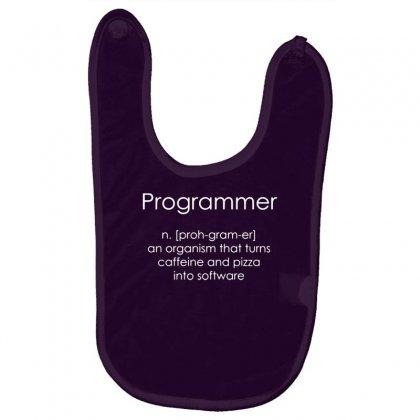 Programmer Coder Software Engineer Loose Baby Bibs Designed By Gematees