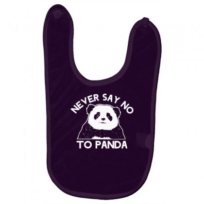 Never Say No To Panda Baby Bibs Designed By Gematees