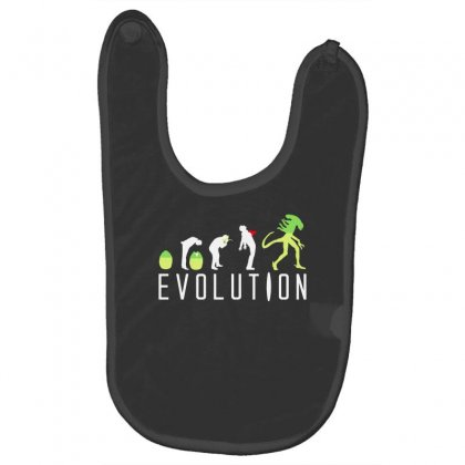 Evolution Of An Alien Baby Bibs Designed By Gematees
