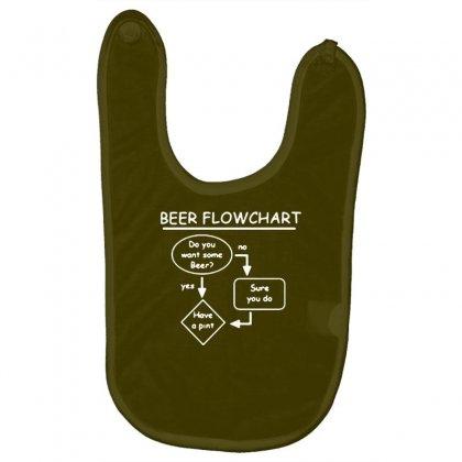 Beer Flowchart Funny Baby Bibs Designed By Gematees