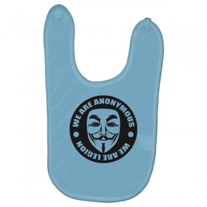 We Are Anonymous Baby Bibs Designed By Gematees