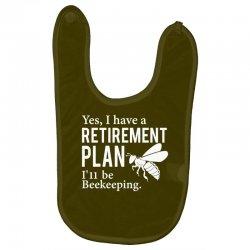 Yes I have a Retirement Plan Baby Bibs | Artistshot
