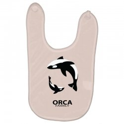 ORCA FAMILY Baby Bibs | Artistshot
