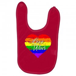 Love Wins One Pulse Orlando Strong Baby Bibs | Artistshot