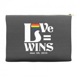 Love Wins Accessory Pouches | Artistshot