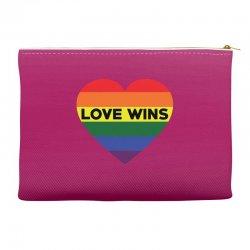 Love Wins Accessory Pouches   Artistshot