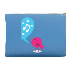 Love Bird Accessory Pouches | Artistshot