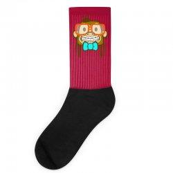 geek monkey Socks | Artistshot