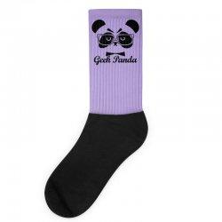 Geek Panda Socks | Artistshot
