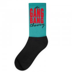the gang bang theory Socks | Artistshot