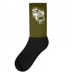 Scream Face Socks | Artistshot
