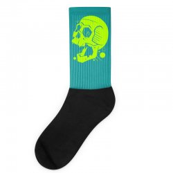 Toxic Scream Socks | Artistshot