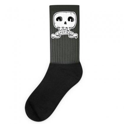 Spooky Skull Socks Designed By Specstore