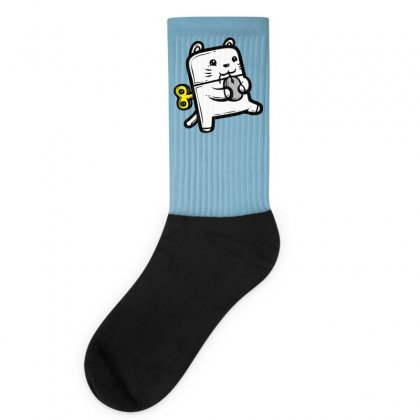 Robo Cat Socks Designed By Specstore