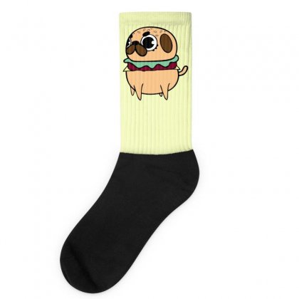 Pug Burger Socks Designed By Specstore