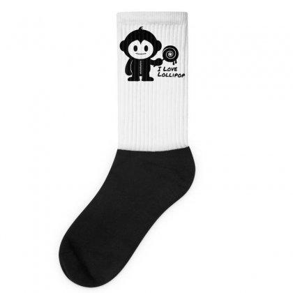 Monkeystein And Lollipop Socks Designed By Specstore