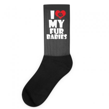 I Love Fur Babies Socks Designed By Specstore