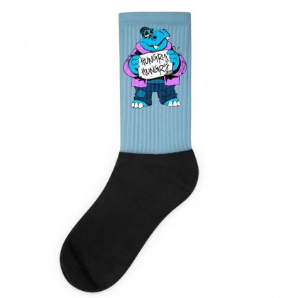 Hungry Hippo Socks Designed By Specstore