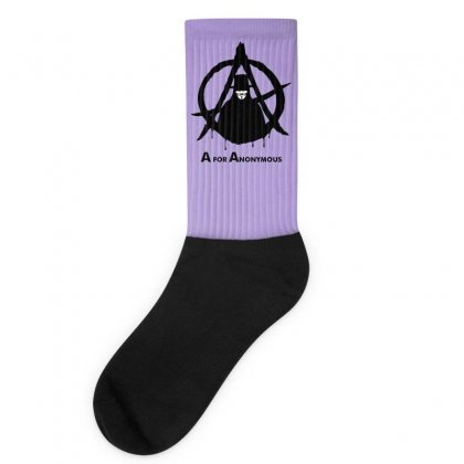A For Anonymous Socks Designed By Specstore