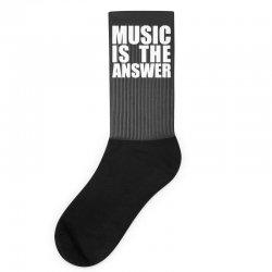 music is the answer Socks | Artistshot