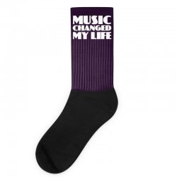 music changed my life Socks | Artistshot