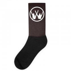 vw strip logo Socks   Artistshot