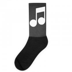music note Socks | Artistshot