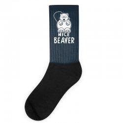 nice beaver Socks | Artistshot