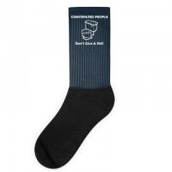 constipated people Socks | Artistshot