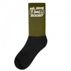 eat sleep boost Socks | Artistshot